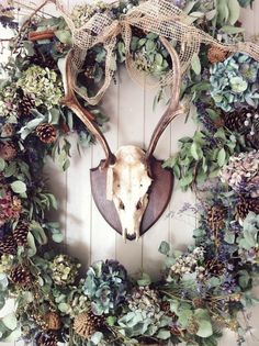 Swallows and Damsons Wreath