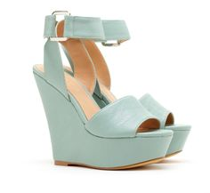Pastel wedges: Sole Society