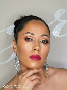 Bold lip using huda beauty in color bachelorette Bold Lips, Huda Beauty, Bridal, Color, Instagram, Colour, Bride, The Bride, Colors