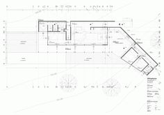 Casa Ensignia-Gerber / OF Arquitectos Revit Architecture, Architecture Graphics, Architecture Drawings, Architecture Details, Title Block, Auditorium Design, Presentation Techniques, Schematic Design, Construction Documents