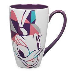 disney store daisy duck shapes ceramic coffee mug new with box Daisy Duck, Disney Tassen, Disney Store, Disney Souvenirs, Disney Gift, Disney Coffee Mugs, Disney Cups, Disney Kitchen, Disney Traditions