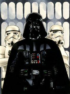 Star Wars - Darth Vader by Richard Cox