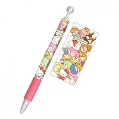 colorful Hello Kitty My Melody Sanrio character mechanical pencil from Japan 2