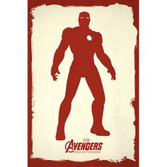 East Urban Home Marvel Comics Minimalistic Avengers Iron man Graphic Art on Canvas Size:
