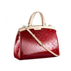 Louis Vuitton Brea GM Red Shoulder Bags