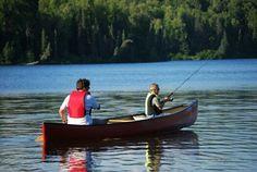 Fishing at Coan pond