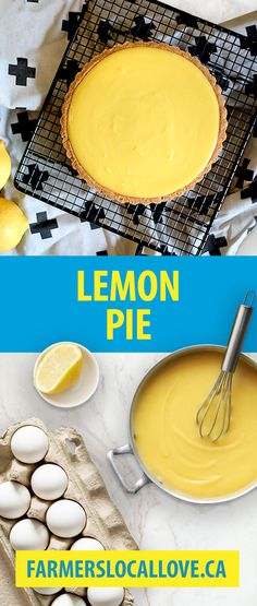 Lemon pie makes everyone happy, including our Nova Scotian dairy farmers. Why? Because it's made with local milk, cream, and sour cream!   Find many more recipes like this on farmerslocallove.ca