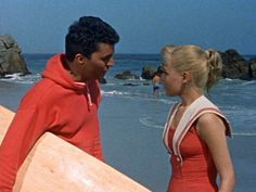 Gidget, 1959 - Sandra Dee and James Darren