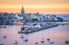 Roscoff: home to an annual onion festival and birthplace of a great French stereotype