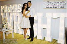 Mark and Michelle. Celebrity Gossip, Celebrity Photos, Michelle Keegan Wedding, Latest Gossip, Getting Engaged, Celebrity Weddings, Parisian, White Dress
