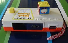 Fisher Price instamatic camera