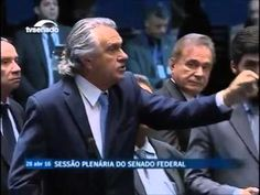 SENADOR RONALDO CAIADO, FICOU INDIGNADO COM FALA DO PRÊMIO NOBEL, 28 04 ...