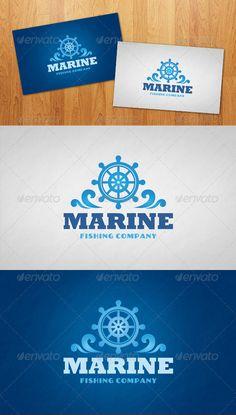 Marine  - Logo Design Template Vector #logotype Download it here: graphicriver.net/...