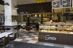MOSWO | le retail | restauration | design | espace | univers identitaire | expérience | parcours Restaurant, Showroom, Bar, Table, Furniture, Design, Home Decor, Restoration, Decoration Home