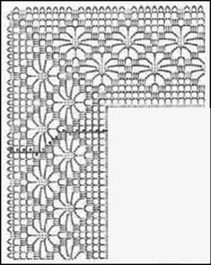 Captivating Crochet a Bodycon Dress Top Ideas. Dazzling Crochet a Bodycon Dress Top Ideas. Crochet Edging Patterns, Crochet Lace Edging, Crochet Borders, Crochet Diagram, Crochet Chart, Crochet Doilies, Crochet Flowers, Crochet Stitches, Crochet Hooks