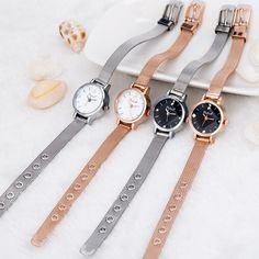 Cheap watch brand famous, Buy Quality watch famous directly from China watch famous brand Suppliers: Small Round Dial Woven Mesh Band Quartz Women Watch Famous Luxury Brand 2017 Simple Casual Ladies Wrist Watches For Women