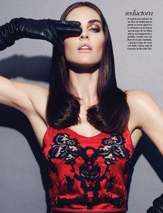 """Lujo Audaz"" : Hilary Rhoda :  Vogue Mexico October 2012 : Nagi Sakai"