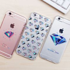 Diamond Clear Jelly Case Galaxy Case Galaxy Case 5 Types Case Korea made 5s Cases, Cool Phone Cases, Iphone 7 Plus Cases, Galaxy Note 4 Case, Note 3 Case, Note 5, Jelly Case, New Mobile Phones, Lg Phone