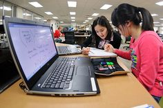 Google Slides lets students collaborate and display ideas effectively. Create animation, story books, video galleries and more. (Flickr / college.library)