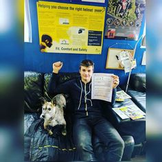 Well done Oliver for passing your CBT #inshot #musclesandmotorbikes #motorcycletraining #musclesandmotorbikes #ride #CBT#happy #cool #friends #follow4follow #like4like  #family #dog #mashtherebeldogg #rebeldoggriders #scooter