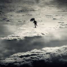 I walked on clouds in my #luciddream last night