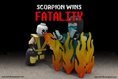 Lego Scorpion Fatality by *seancantrell on deviantART