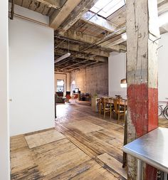 Franklin street loft in Brooklyn