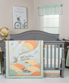 Trend Lab Oh, The Places Youll Go! Crib Bedding Set | zulily