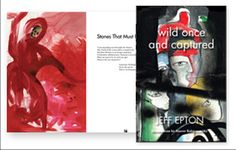 'Wild Once and Captured' poetry book launches, features Elaton design and illustrations by Stacee Kalmanovsky