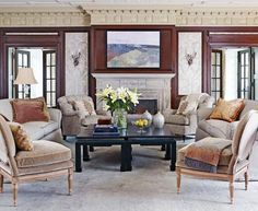 Reviving a Georgian-Style Treasure in St. Louis - Traditional Home