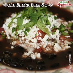 Out on a cold day? Fuel up with our Whole Black Bean Soup --- whole bean soup served in it's own broth, finished with diced tomatoes, onions and cilantro, topped with fresh cheese and served with tortillas. Definitely a delicious day to warm up.  3 Margaritas - Orchard Mall - About - Google+ Black Bean Soup, Black Beans, Orchard Restaurant, Tortillas, Cilantro, Onions, Tomatoes, Mall, Cheese