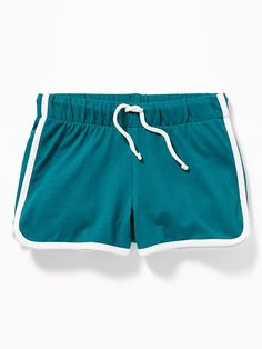 Old Navy Jersey Dolphin-Hem Cheer Shorts for Girls Old Navy Girls, Girls 4, Short Girls, Cheer Shorts, Kids Outfits, Cute Outfits, Toddler Boy Gifts, Dolphin Shorts, Girls Pants