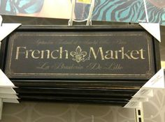 Paris Flea Market End Table Love French, French Words, Country French, Diy Craft Projects, Design Projects, Diy Crafts, French Signs, Waiting In The Wings, Paris Flea Markets