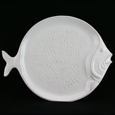 Coastal Collection Embossed Fish Plate | ACHICA
