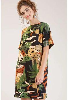 Bold Fashion, Women's Summer Fashion, Colorful Fashion, Fashion Design, Fashion Fabric, Fashion Prints, Nice Dresses, Casual Dresses, October Fashion