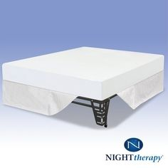 Night Therapy Memory Foam 8 Inch Mattress and SmartBase® Complete Set, Full