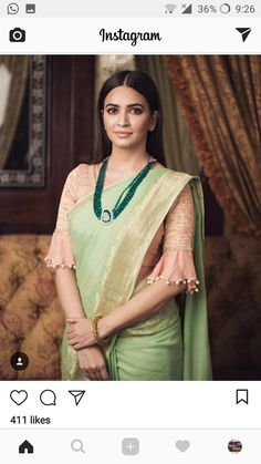 Beautiful Saree Blouse Sleeve Designs to Try This Year - Kurti BlouseBest Ideas For Wedding Winter Bridesmaids GoldElegant and Graceful. Saree Blouse Neck Designs, Fancy Blouse Designs, Saree Blouse Patterns, Designer Blouse Patterns, Designer Saree Blouses, Dress Designs, Stylish Blouse Design, Sleeve Designs, Look Chic
