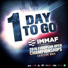 Time to fly to Prague... IMMAF Euros 2016...  http://ift.tt/2eX5GuX