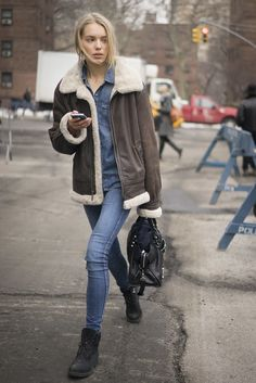 New York Fashion Week Street Style Fall 2015 | POPSUGAR Fashion