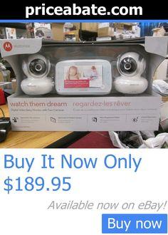 Baby: Motorola Digital Video Baby Monitor W/ 2 Cameras #Mbp38s-2 New BUY IT NOW ONLY: $189.95 #priceabateBaby OR #priceabate