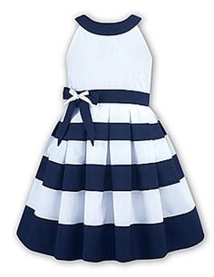 Girls Sailor Dress | ... Baby & Child :: Baby :: Girls :: Dresses :: Nautical Sailor Dress