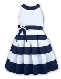 Girls Sailor Dress | ... Baby & Child :: Baby :: Girls :: Dresses :: Nautical Sailor Dress