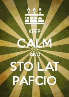 KEEP CALM AND STO LAT PAFCIO