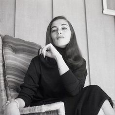 Pier Angeli at home in 1958