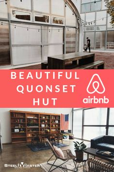 If you've ever wondered what it's like to stay in a Quonset Hut, you can get the experience--even if only for a few nights--at a Detroit Airbnb. quonset hut homes