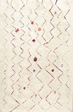 MarrakechInverted Zigzag Wool KL04 Rug