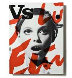 Vs magazine layout by Rasmus Koch