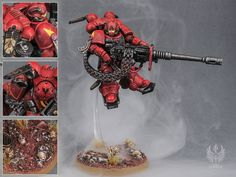 Warhammer 40k Blood Angels, Space Marine, Gw, Marines, Angles, Miniatures, Models, Halloween, Decor