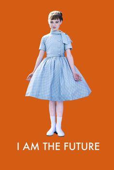 """""""Tomorrowland"""" Raffey Cassidy is Athena in Brad Bird's """"Tomorrowland"""" (2015)."""