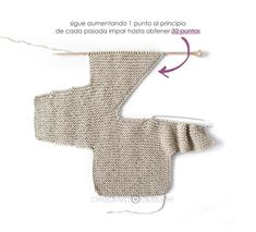 How to make a Knitted Kimono Baby Jacket - Free knitting Pattern & tutorial baby mädchen Knitted Kimono – NUR Baby Jacket Pattern & Tutorial Baby Cardigan Knitting Pattern Free, Baby Sweater Patterns, Knitted Baby Cardigan, Knit Baby Sweaters, Baby Knitting Patterns, Baby Patterns, Free Knitting, Baby Knits, Knitted Baby Clothes